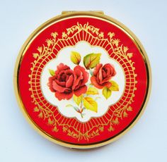 Red Rose Stratton Compact