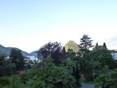 """Giardino di """"Grand Hotel Villa Castagnola"""", Lugano Ticino Swiss"""