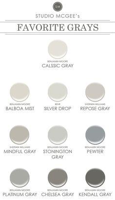 Ask Studio McGee: Gray Paint