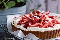 Erdbeer-Mandel-Tarte