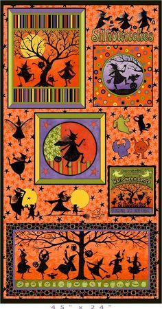 halloween quilts | Halloween Dance designed by Teresa Kogut from Marcus Fabrics. This ...