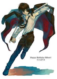 Hibari Kyoya <3 http://www.zerochan.net/1712243