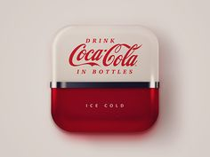 coke machine icon designed by Andrew Baygulov. Connect with them on Dribbble; Web Design, App Icon Design, Game Design, Mobile App Icon, Ios App Icon, Coca Cola, Launcher Icon, Coke Machine, Application Icon