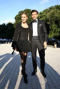 The Olivia Palermo Lookbook : Olivia Palermo and Johannes Huebl in Paris
