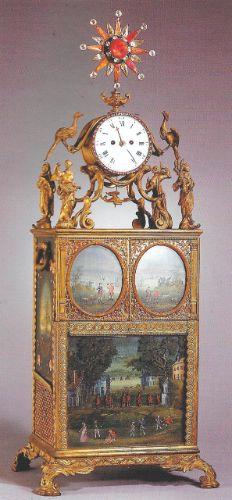 Nécessaire par John Barbot, vers 1750. Musée du Palais Impérial à Beijing