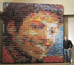 Micheal Jackson Can Mosaic. WOW!!!!