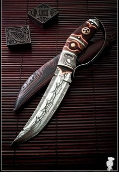 Knife crafted by Swede Andre Anderson