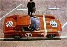 1964 Ferrari 250 GTO (#5571GT) at Le Mans.