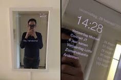 This smart mirror will make every morning less stressed and change your life.