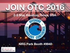 The Offshore Technology Conference (OTC) is where energy professionals meet to exchange ideas and opinions to advance scientific and technical knowledge for offshore resources and environmental matters. http://aishouston.com/index.php?option=com_content&view=article&id=671:offshore-technology-conference-2016&catid=126&Itemid=802