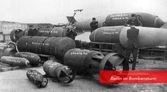 These series of posts will show the different types of bombs and explosives used in the campaign against Berlin by British RAF and American USAAF during the war and their deadly effect.