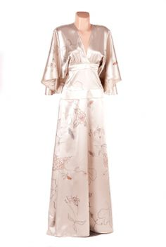 Hűvös elegancia alkalmi ruha, hengspergercecilia, meska.hu #occasional #dress #kimono Kimono, Dresses, Fashion, Elegant, Dress, Gowns, Moda, La Mode, Kimonos