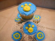 Southern University inspired cupcakes