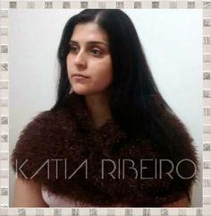 Katia Ribeiro Moda & Decoração Handmade: Gola Capuz em tricô com receita e vídeo com o passo a passo