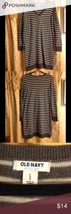 Old navy winter cotton dress Old navy cotton dress size L long sleeve knee length Old Navy Dresses Long Sleeve