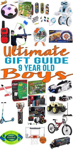 The Ultimate Gift Guide For 9 Year Old Boys Find Top Birthday Gifts That A Boy Will Love Shopping Can Be Hard