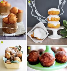 Desserts: Go Nuts For Donuts!