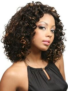 Short Lace Front Wigs, Synthetic Lace Front Wigs, Synthetic Wigs, Beauty Hair Extensions, Clip In Hair Extensions, Remy Wigs, Black Hair Clips, Medium Curly, Medium Brown