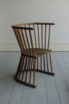 Flip Garden Chair by Howe.  (Made to be turned over after a summer's shower).