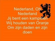 Patriotic songs - Stuff Dutch People Like Brazil World Cup, World Cup 2014, Fifa World Cup, Netherlands Country, Kingdom Of The Netherlands, Soccer Fifa, Dutch People, Going Dutch, Sport Icon