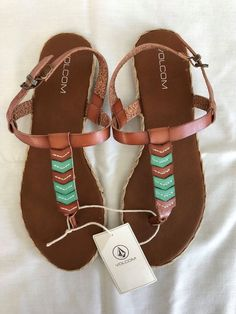 245014f9317e Brand New with Tag VOLCOM Trails Multi Sandal Size 10