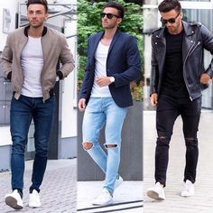 stylish Mondays // urban men // boys // city life // mens fashion // denim // mens wear // leather jacket // street fashion //