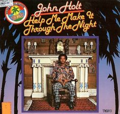 John Holt - Help Me Make It Trough The Night GER 1973 Lp mint--