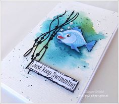 Margyz Paper Games: Crafty Cardmakers Challenge #209 - Water