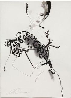 Bellezza da vendere : David Downton -High Illustration
