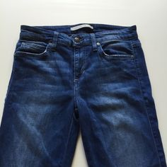 """Joe's Mid Rise Skinny Jeans Cut at the bottom for an """"ankle fray"""" look. Super soft stretch. Worn only 2x - just not the right fit on me. Joe's Jeans Jeans Skinny"""