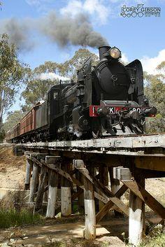 K190 - Victorian Goldfields Railway | Flickr - Photo Sharing!