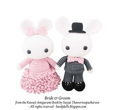 Ravelry: Bride and Groom pattern by Sayjai Thawornsupacharoen