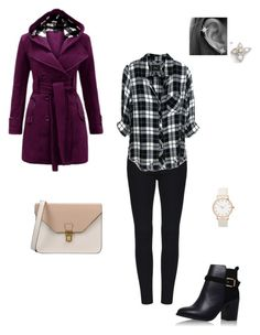 """""""#254"""" by snows22 ❤ liked on Polyvore featuring Topshop, 8, Rails, Nanazi Jewelry and Armadoro"""