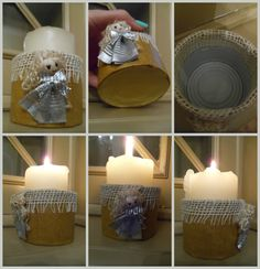 latta porta candela