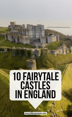 travel destinations england 10 Fairytale Castles In England You Must See Bora Bora, Tahiti, Sightseeing London, London Travel, Bodiam Castle, Dover Castle, Castles To Visit, Leeds Castle, Day Trips From London