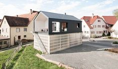 House Unimog, two levels structure produced by Fabian Evers Architecture