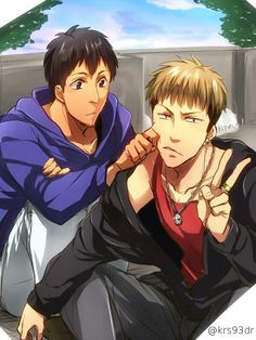 Attack on Titan   Bertholdt and Jean