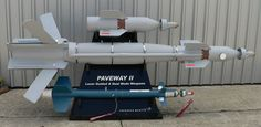 A Paveway II laser-guided bomb on display at the 2007 Paris Air Show. David Monniaux photo