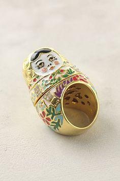 Stacking Babushka Ring.