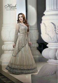 #lehnga Party Wear Indian Dresses, Indian Fashion Dresses, Wedding Dresses For Girls, Indian Gowns, Indian Designer Outfits, Designer Dresses, Designer Wear, Pakistani Wedding Dresses, Pakistani Outfits