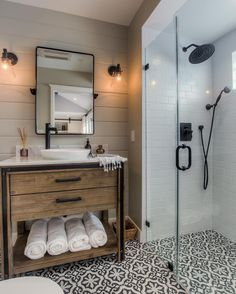"""2,713 Likes, 50 Comments - Cement Tile Shop (@cementtileshop) on Instagram: """"We just love everything about this bathroom by @spaziola in Los Angeles, CA featuring the in stock…"""""""
