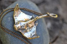Bronze Sting Ray- cant say I'd ever wear it considering I still have the barb in my foot... Errrr....