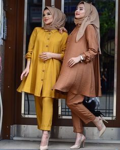 Modest Fashion Hijab, Modern Hijab Fashion, Street Hijab Fashion, Modesty Fashion, Muslim Fashion, Fashion Dresses, Arab Fashion, Sporty Fashion, Mod Fashion