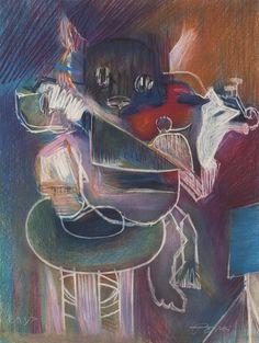 VERITAS | Art Auctioneers | Portugal : Leilão 25 - Júlio Pomar - Sem título