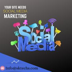 Social media marketing provides companies with a way to engage with existing customers and reach new ones while allowing them to promote your products. To enjoy our services write us at: info@sktechs.com . . #sktechs #digitalmarketing #socialmedia #socialmediamarketing #socialmediamanagement #marketing #promotion #business #success #socialcommunity #transparency #socialmediaknowledge socialmediaknowledge #privacy #mediaconsumption #socialmediacompanies #socialmediaplatforms #connversation Social Media Marketing, Digital Marketing, Social Community, Promotion, Knowledge, Success, Writing, Business, Products