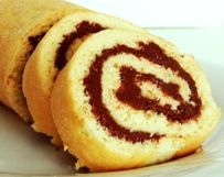 Oat Bran Vanilla Swiss Roll With Cocoa Spread Dukan Diet Pp Cruise Recipe