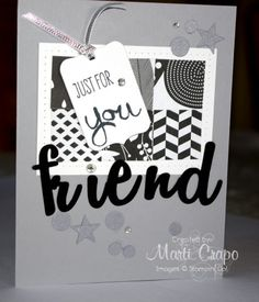 #workofart, #stampinup, 1 Fabulous Layout, 3 Great Cards | Stamp With Marti