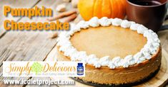 Pumpkin Cheesecake from the IC Diet Project (aka Simply Delicious: Low Acid Eating Made Simple) made possible by Prelief and the Interstitial Cystitis Network!