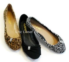 Amazon.com: Lily-31 Black Ballet Flats Jewel Evening Low Heel: Shoes