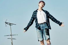 'WINGS : YOU NEVER WALK ALONE' Naver Music Special Photo : Rap Monster | 김남준